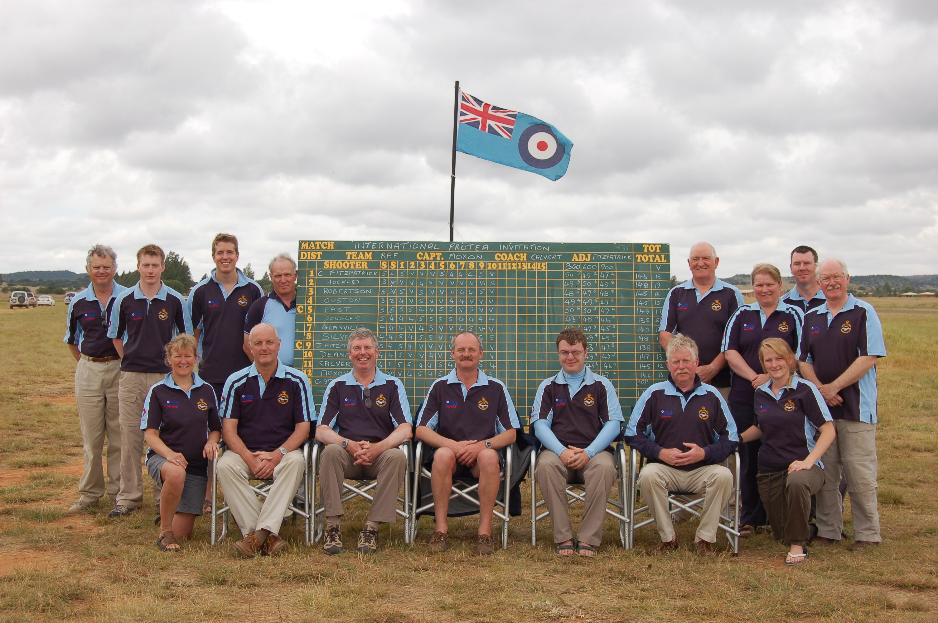 RAF Team to South Africa 2010