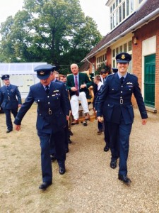 DC carried by fellow RAF shooters